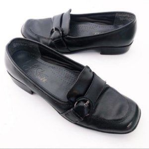 Life Stride (8M) Black Bryce Heeled Loafers